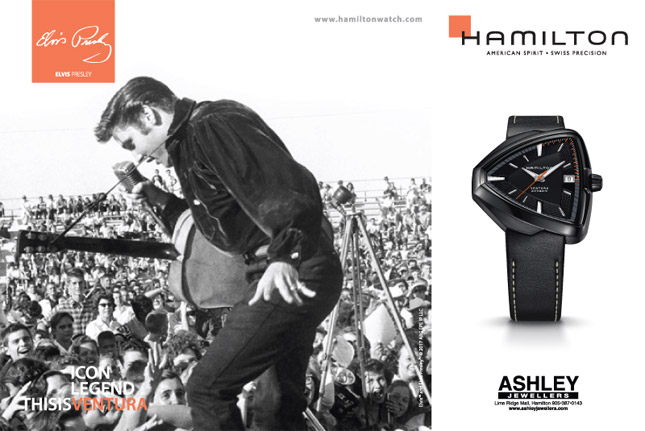 Hamilton - American Spirit - Swiss Precision. A Stunning Trio For An Important Celebration.